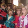 BES Third Graders visit Silver Bluff to sing Christmas carols and deliver gifts