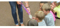 Bethel Elementary Students Celebrate Reading with a visit from Lauren Tamayo, 2012 Olympic Silver Medalist