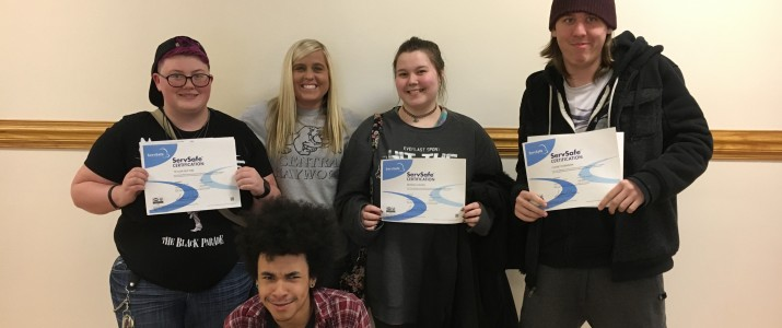 Central Haywood High Students earn competitive ServSafe credential