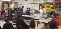 Tuscola High School's STACK Team Reminds Students that Learning Science is FUN!