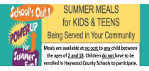 Summer Meals for Kids and Teens